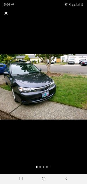 2009 Subaru impreza for Sale in Canby, OR
