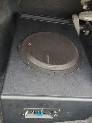 Rockford Fosgate P500-12P Sub and Amp combo for Sale in Portsmouth, VA