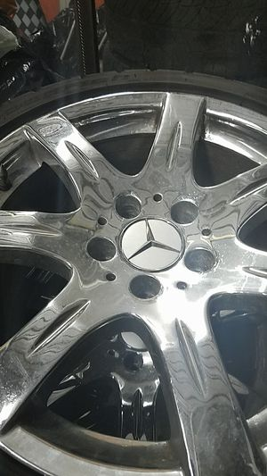 """Mercedes stock 17"""" wheels. Set of 4. for Sale in Los Angeles, CA"""