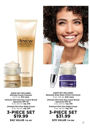3 piece avon skin care sets for Sale in Belmond, IA