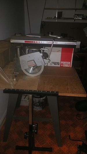 DEWALT table saw for Sale in Bowie, MD