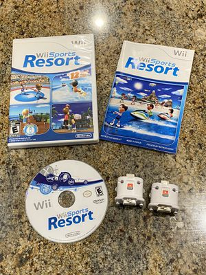 Wii Sports Resort with Motion Sensors for Sale in Goodyear, AZ