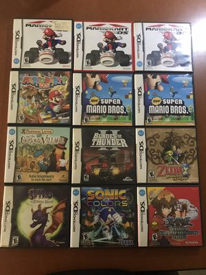 Nintendo DS Games $15-25 Each for Sale in Culver City, CA