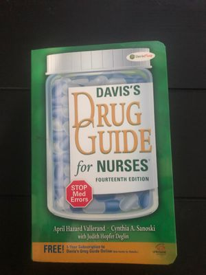 David's Drug Guide for Nurses for Sale in Miami Shores, FL