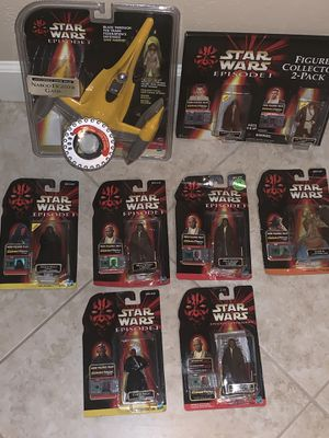 1998 Star Wars Episode 1... Lot of 8 pieces. for Sale in Gilbert, AZ