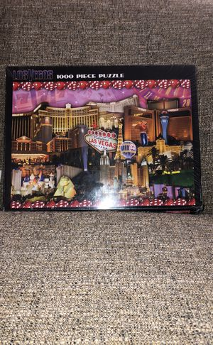 Las Vegas1000 Piece Puzzle. Please see all the pictures and read the description for Sale in Lincolnia, VA