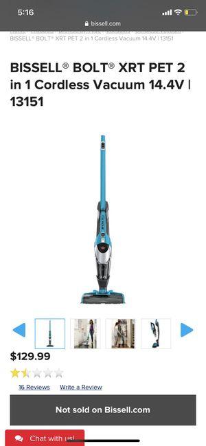 Bissell bolt pet vacuum for Sale in Pinellas Park, FL