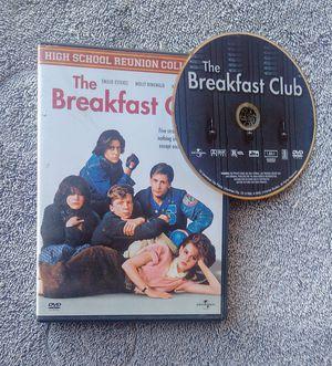 THE BREAKFAST CLUB 1985 DVD REUNION EDITION RINGWALD HALL for Sale in Corona, CA