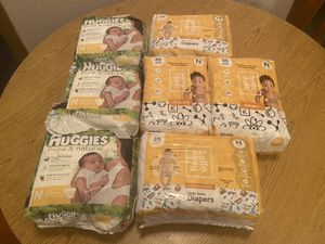 Newborn diapers 199 count for Sale in Lewisville, TX