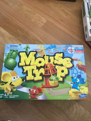 Mouse trap Hasbro board game for family and kids for Sale in Fountain Valley, CA