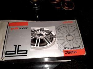 6.5 polk audio speakers for Sale in Mesquite, TX