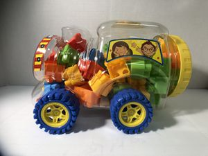 Train Toy Container with Blocks for Sale in Pembroke Pines, FL