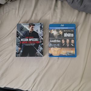 Mission Impossible Series Blu-ray Collection for Sale in San Jose, CA