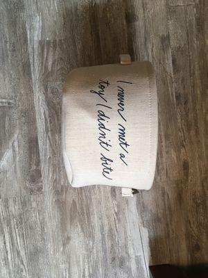 Brand new Ellen DeGeneres dog toy basket for Sale in Vernon Hills, IL
