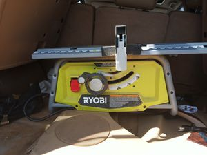 Ryobi 10 inch table saw for Sale in Columbus, OH