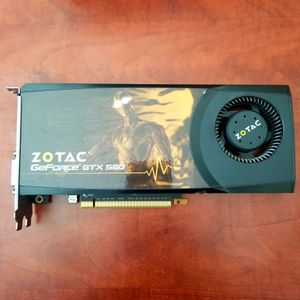 GTX 560 Graphic Card for Sale in Fontana, CA