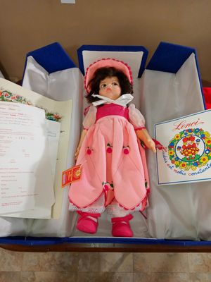 """RARE ANTIQUE 1919 ORIGINAL LENCI FELT DOLL """"MODEL LL #380 PATRIZIA"""". 101 YR OLD DOLL IN MINT CONDITION for Sale in Fort Wright, KY"""