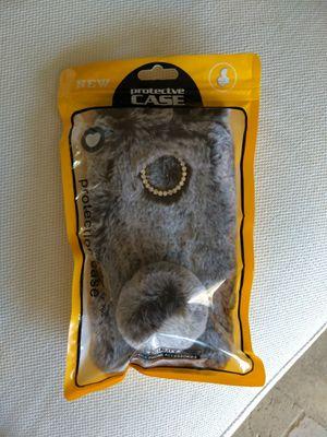 Protective case for Motorola G6+ - grey bunny for Sale in Poway, CA