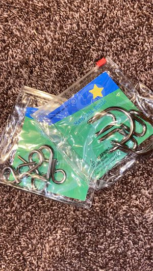 Metal Link Puzzle for Sale in Glendale, AZ