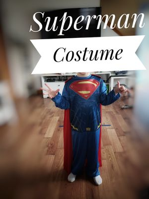 Superman Costume, Size M for Sale in Chicopee, MA