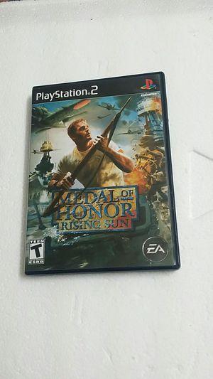 Medal of Honor Rising Sun, PS2 for Sale in El Cajon, CA