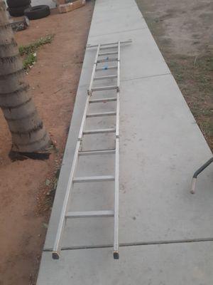 Escalera de 12pies sedobla en 4 for Sale in San Bernardino, CA