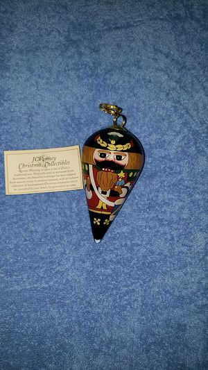 Hand painted glass ornament for Sale in Lakeland, FL