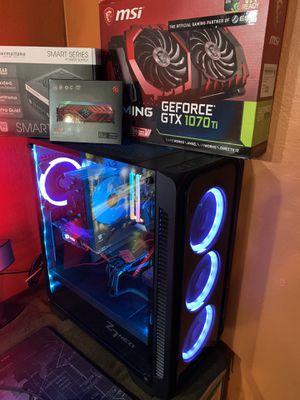 Custom build gaming editing pc for Sale in Santa Ana, CA