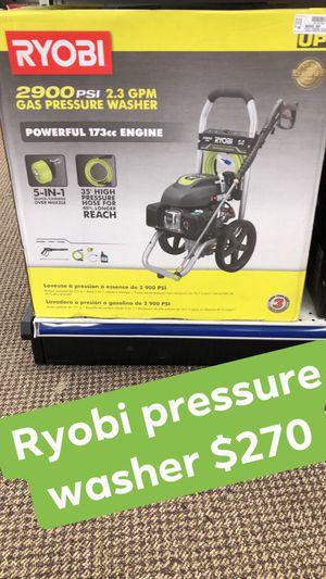 Ryobi pressure washer for Sale in Greensboro, NC