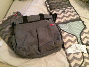 SKIP*HOP diaper bag, garment bag, changing pad for Sale in Queen Creek, AZ