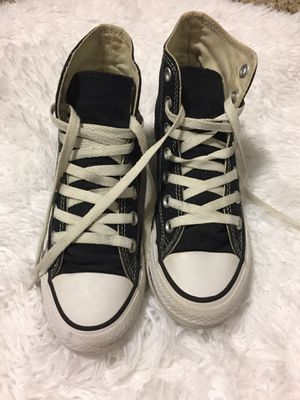 black hightop converse all stars for Sale in Rockville, MD