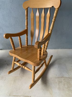 Heavy solid handmade rocking sturdy chair. Please see pics for measurements. Jupiter for Sale in Jupiter, FL