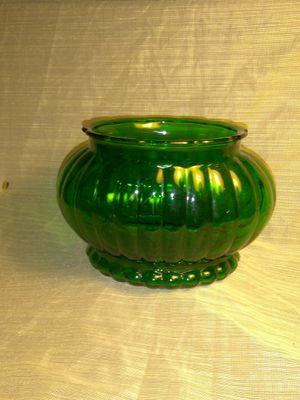 Vintage Forest Green Glass Planter Vase for Sale in Port Huron, MI