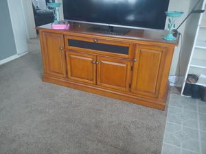 Tv stand. Entertainment center for Sale in Vancouver, WA