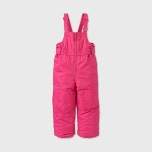 Cat & Jack Toddlers Snow Bib Overall Pink 12M for Sale in Dallas, TX