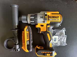 DCD996 DeWalt hammer drill XR and 2.0ah battery for Sale in Falls Church, VA