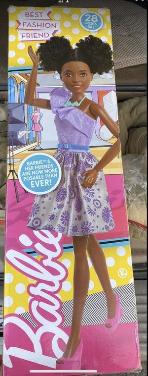 New 28 inches Barbie doll $50 for Sale in Rancho Cordova, CA