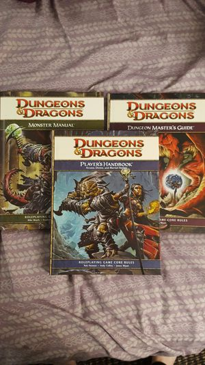 Dungeons and Dragons 4th edition Core Rulebook Collection for Sale in Columbia, MO