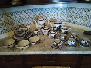 Vintage Japanese Hayasi teapots and luncheon set for Sale in Monroe, WA