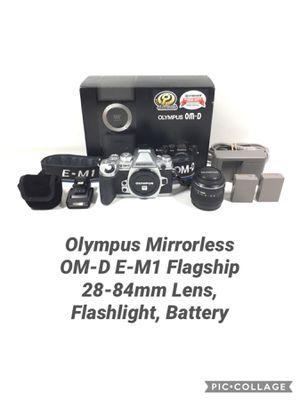Olympus E-M1 Mirrorless Digital Camera 16MP Lens Bundle for Sale in Boston, MA