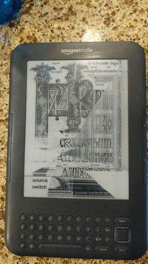 Kindle generation 3 broken screen for Sale in San Jose, CA