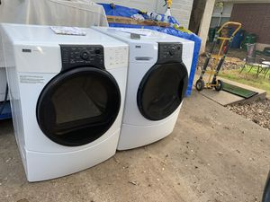 Kenmore elite quiet pak-9 electric washer /dryer combo!!! for Sale in Austin, TX