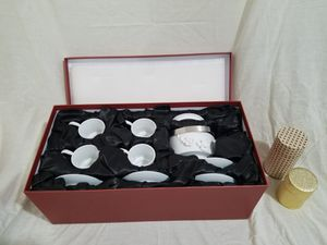 Teavana Orchid White Beautiful 9 piece Teapot Set - BRAND NEW for Sale in Los Angeles, CA