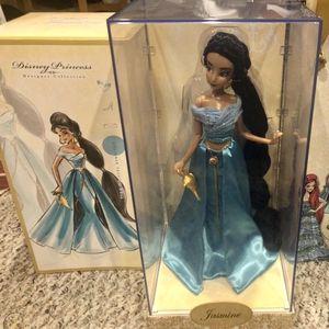 JASMINE / ALADDIN MOVIE / DISNEY FAIRYTALE DESIGNER COLLECTION DOLLS Disney Limited Edition Collectible Dolls Disney Collector Special Edition for Sale in Gilbert, AZ