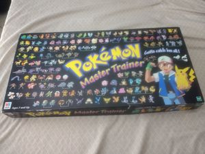 Pokemon Master Trainer Board Game for Sale in Clermont, FL