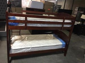 Brand New Cherry T/T Bunk Bed for Sale in Nashville, TN