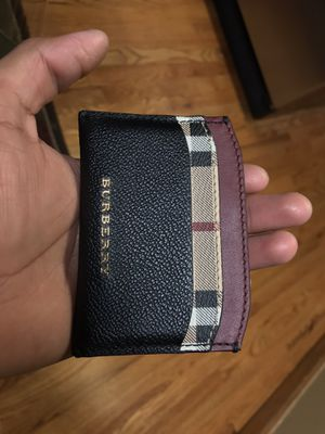 Burberry card holder for Sale in Denver, CO