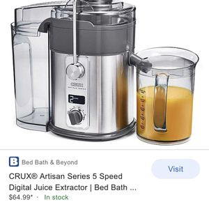 CRUX ARTISAN SERIES Juice Extractor for Sale in Miami, FL