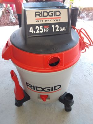 RIGID Wet & Dry Vac for Sale in Haines City, FL