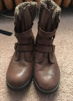 Leather boots size 7 for Sale in Denver, CO